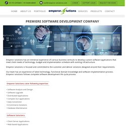 Emperor Solution - Software Development Company