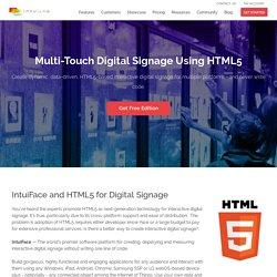 HTML5 Digital Signage Software - IntuiLab