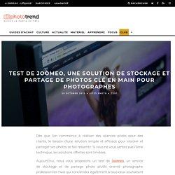 Test de Joomeo, une solution de stockage et partage de photos clé en main pour photographes