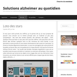 Solutions alzheimer au quotidien