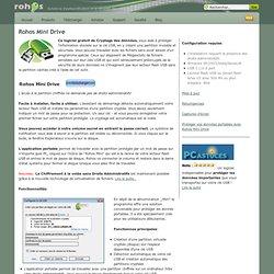 Solutions d'authentification et la sécurité des données » Rohos Mini Drive