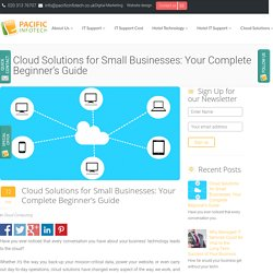 Cloud Solutions for Small Businesses: Your Complete Beginner's Guide