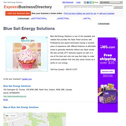 Blue Sail Energy Solution