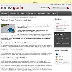Paiement des factures en ligne - Solutions - Inovagora - Agence de communication publique digitale