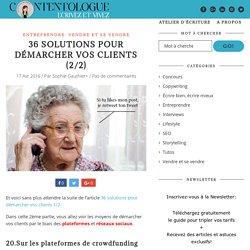 36 solutions pour démarcher vos clients (2/2) - Contentologue