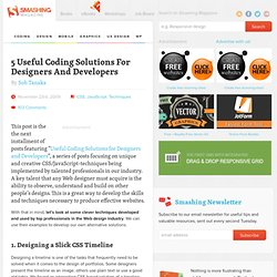 6 Useful Coding Solutions For Designers And Developers - Smashin