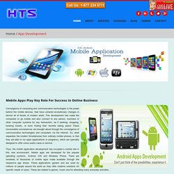 HTS Solutions : Mobile Apps Development Services