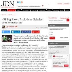 NRF Big Show : 7 solutions digitales pour les magasins