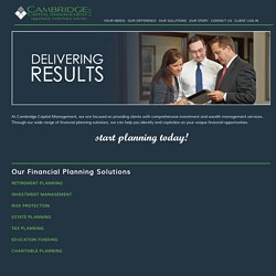 Financial Planning Solutions in St Louis
