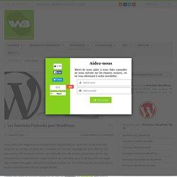 Les Solutions Flipbooks pour WordPress