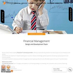 IT Solutions for Finance Industry - Consagous