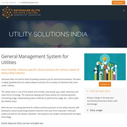 Solutions for the Utility Industry India