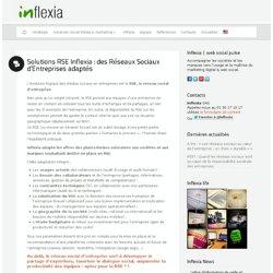 Solutions RSE Inflexia : des Réseaux Sociaux d'Entreprises adaptés : Inflexia - web social pulse