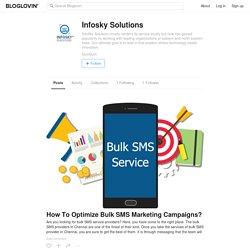Infosky Solutions (infoskysolutions) on Bloglovin'