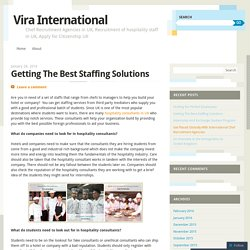 Getting The Best Staffing Solutions