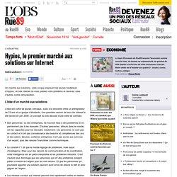 Hypios, le premier marché aux solutions sur Internet