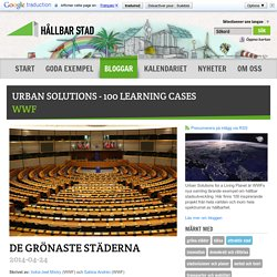 URBAN SOLUTIONS - 100 LEARNING CASES - Hållbar Stad