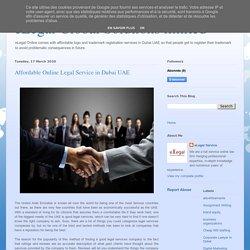 Affordable online Legal Service in Dubai UAE