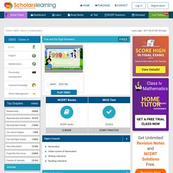 NCERT Solutions for Class 4 Maths Mathematics Online CBSE Animated video