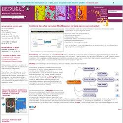 Solutions de cartes mentales (MindMapping) en ligne, open source et gratuit