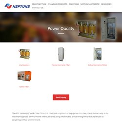 Best Solution Provider for Power Quality Problems