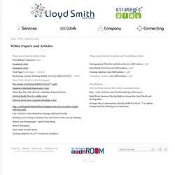 Lloyd Smith Solutions - White Papers