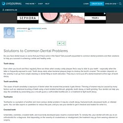 Solutions to Common Dental Problems: anbdentalab