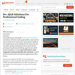 80 AJAX-Solutions For Professional Coding