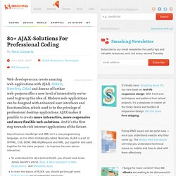 80+ AJAX-Solutions For Professional Coding