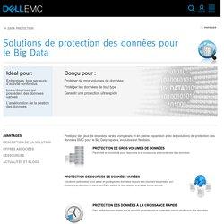 Solutions de protection des données