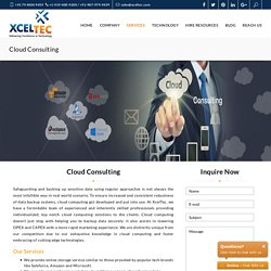 Cloud Consulting Solutions