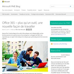 Office 365 – Solutions au quotidien