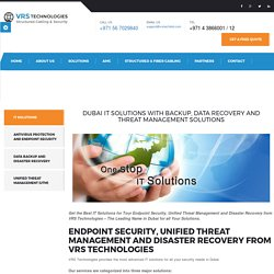 Dubai IT Solutions - Data Recovery service - vrstechdxb.com