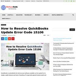 Solutions to Resolve QuickBooks Update Error Code 15106
