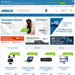 Misco.co.uk - Computer Hardware, Laptops, Notebooks, Desktops, T