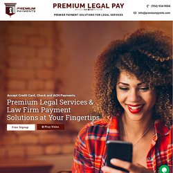 Payment Solutions for Legal Services and Law Firms