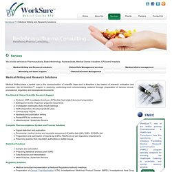Medical Writing Solutions - Medical Writing Services - WorkSure™