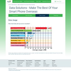 Data Solutions - Make The Best Of Your Smart Phone Overseas