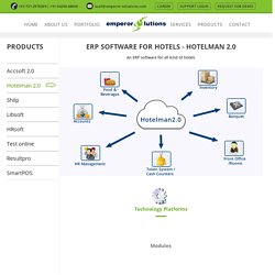 ERP Software Hotelman 2.0 for Hotels and Restaurant