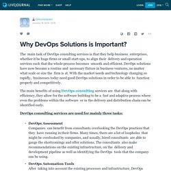 Why DevOps Solutions is Important?: t24corebankin