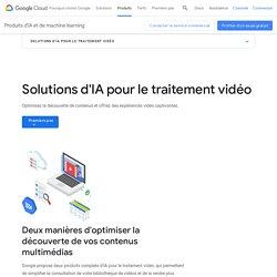 Solutions d'IA pour le traitement vidéo– Analyse du contenu des images
