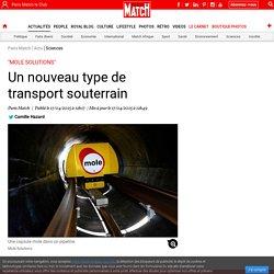 """""""Mole Solutions"""" - Un nouveau type de transport souterrain"""