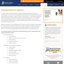 Training Solutions for the Transportation and Logistics industry