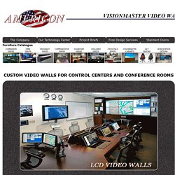 Are you finding Control Room Video Walls in the USA? - Visit Americon