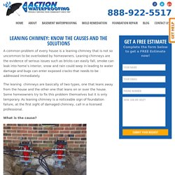Leaning Chimney: Know The Causes And The Solutions