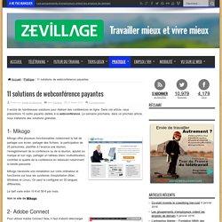 11 solutions de webconférence payantes