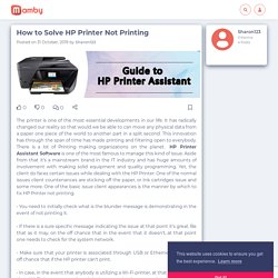 How to Solve HP Printer Not Printing - Mamby