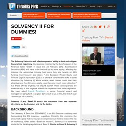 Solvency II for Dummies!