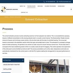 Solvent Extraction - Kumar Metal Industries