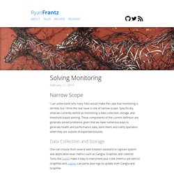 Solving Monitoring – Ryan Frantz